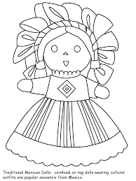 New Mexican Coloring Pages Gallery Kids Ideas