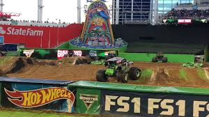 100 Monster Truck Show Miami Jam 2018 Grave Digger Freestyle Winner Show 2 YouTube