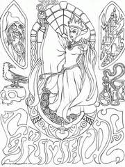 Book By Art Therapy Disney Bad Characters Coloring Pages To Print