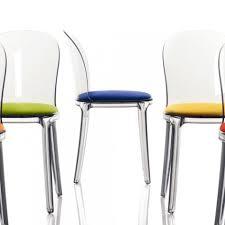 chaise design transparente vanity chair chaise transparente de magis