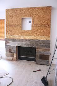 Reclaimed Wood Fireplace Ideas