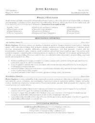 Best Engineering Resume Template Electrical Examples Of Construction Project Manager Businessdegreeonline