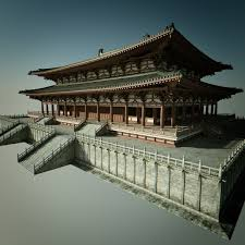 3d Chinese Architectural Palace Model Chinese Architect In 2019
