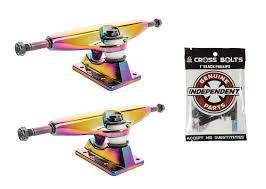 100 Parts Of A Skateboard Truck Slant S Oil Slick 5375 825 Xle Independent