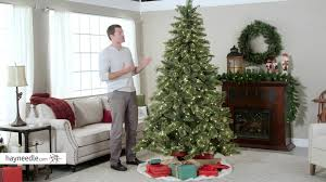 Hobby Lobby Pre Lit Christmas Trees Instructions by 7 5 Ft Hard Mixed Needle Gold Glitter Cashmere Pine Pre Lit