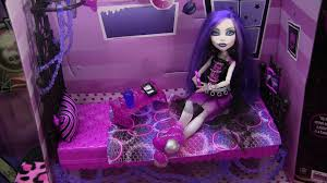 Monster High Bedroom Set by Monster High Spectra Vondergeist Floating Bed Playset Review Video