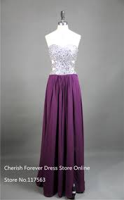 online get cheap dark purple prom gown aliexpress com alibaba group
