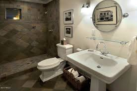 traditional 3 4 bathroom with wall sconce pedestal sink in