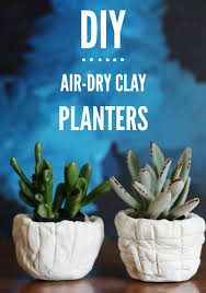 Make These Cool DIY Air Dry Planters