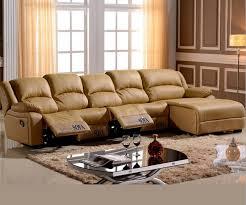 living room sofa Recliner Sofa cow Genuine Leather Sofa Cinema 4