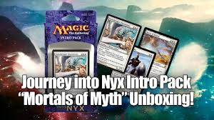 Ajani Mentor Of Heroes Deck List by Journey Into Nyx Intro Pack Mortals Of Myth Youtube