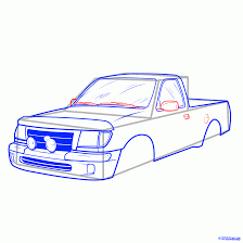 Step 9. How To Draw A Pickup Truck, Pickup Truck Step 11 How To Draw A Truck Tattoo A Pickup By Trucks Rhdragoartcom Drawing Easy Cartoon At Getdrawingscom Free For Personal Use For Kids Really Tutorial In 2018 Police Monster Coloring Pages With Sport Draw Truck Youtube Speed Drawing Of Trucks Fire And Clip Art On Clipart 1 Man