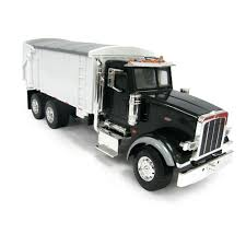 1/16th BIG FARM Peterbilt 367 Truck With Grain Box In Black Toy Toys ...