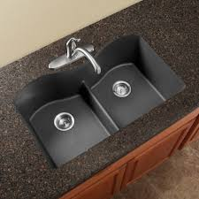 this granite undermount sink from elkay is not only gorgeous it s