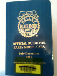 100 Truck Blue Book Values Kelley Official Guide For Early Model Cars July December