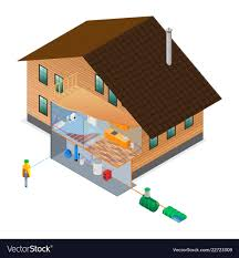 100 Picture Of Two Story House Scheme Of Water Supply And Heating Twostory House