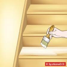 vernir un escalier