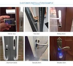 chambre 駻aire shenzhen myhand industrial co ltd password lock fingerprint lock