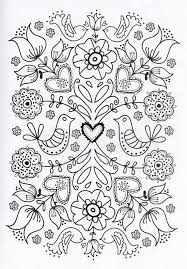 Flower Blume Fleur Fiore Flor Kvetina Blomma Coloring Page Printable Adults Prontable Kleuren Voor