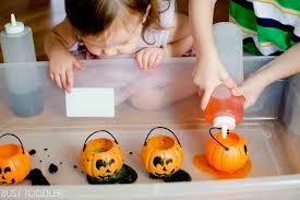 Books About Pumpkins For Toddlers by Pumpkin Fizz Halloween Science Activity Busy Toddler