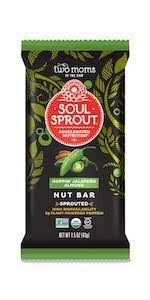 Blue Pumpkin Nib Amazon by Amazon Com Soul Sprout By Two Moms Sprouted Granola Bars Cacao