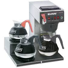 Bunn CWTF15 3 Automatic Coffee Brewer W Lower Warmers 120v 129500298