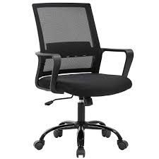 Home Office Chair Ergonomic Desk Chair Swivel Rolling Computer Chair  Executive Lumbar Support Task Mesh Chair Adjustable Stool For Women Men  Black Advanceup Ergonomic Office Chair Adjustable Lumbar Support High Back Reclinable Classic Bonded Leather Executive With Height Black Furmax Mid Swivel Desk Computer Mesh Armrest Luxury Massage With Footrest Buy Chairergonomic Chairoffice Chairs Flash Fniture Knob Arms Pc Gaming Wlumbar Merax Racing Style Pu Folding Headrest And Ofm Ess3055 Essentials Seat The 14 Best Of 2019 Gear Patrol Tcentric Hybrid Task By Ergocentric Sadie Customizable Highback Computeroffice Hvst121