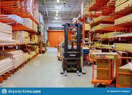 100 Warehouse Houses Building Materials Logistics Concept Construction Of
