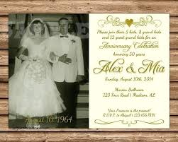 Lovely Printable 50th Wedding Anniversary Invitations Or Inspirational 75