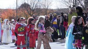 West Chester Halloween Parade by Pocopson Elementary 2015 Halloween Parade Youtube