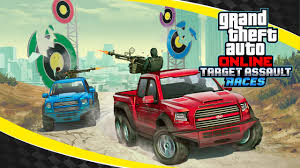 Grand Theft Auto Online - Target Assault Races Trailer - Rockstar Games