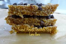 Peanut Almond Chocolate Chip Lara Bars