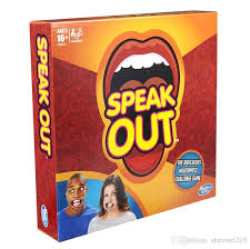Hot Toys Speak Out Mouth Board Popular Party Game Kids Adult Brand New Gift Ktv In Stock Free Games Trivia From Shenwei205