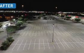 parking lot lighting led garage lights cree lighting
