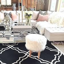 Glamour Living Room Were Loving Designer Glamorous Style Rustic