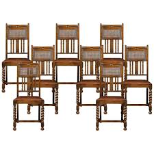 Antique Vintage Set Of 4 Carved Oak High Back Spiral Barley ... Pair Of Italian Vintage Highback Chairs 1980s Ding Room High Back Chairs Kallekoponnet Amazoncom Vidaxl Luxury Chair Tufted Queen Anne Style Upholstered Wing For Sale At 1stdibs 4b In 2019 Back Btexpert 24 Industrial Clear Metal Antique Stools Brown With Vintage Style Frame Teak Wood High Center Table Hot Item Fniture Straight Purple Dollhouse Farmhouse Rustic Zen Zoom Beautiful Set Ten 20th