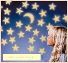 50 leuchtsterne 1 mond dekoration kinderzimmer leuchtaufkleber sticker wandtattoo glow in the nachtleuchtend