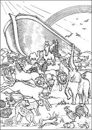 Noahs Ark Lands On Mount Ararat