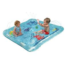 Kleeger Baby Wading Kiddie Pool Outdoor Squirt Splash Water Fun For Toddlers Simple
