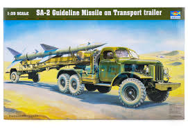 00204   Trumpeter 1/35 SA-2 Guideline Missile W/ Transport Trailer ... Very Htf Revell Ford Aeromax 106 Cventional Model Truck Kit 124 Nib Amt Usa 125 Scale Fruehauf Flatbed Trailer Plastic 002 Trumpeter 135 Df21 Ballistic Missile Launcher Scaled Marmon Stars And Stripes American Sdv Plastic Model 187 H0 Praga With V3s Pad S Rmz Scania Container 164 Pla End 21120 1106 Am 1200scale 6cm Long Architectural Model Plastic Miniature Aoshima 132 Shines Deco Truck Led New Goods Revellkit 07524 Scania 143m Truck With Trailer Amazoncom Snap Tite Freightliner Aurora Kits Wwwtopsimagescom Big Rig White Classic Bonnet Semi Tractor