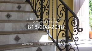 Custom Iron Railings For Stairs - 818-208-2018 - YouTube Wrought Iron Stair Railings Interior Lomonacos Iron Concepts Wrought Porch Railing Ideas Popular Balcony Railings Modern Best 25 Railing Ideas On Pinterest Staircase Elegant Banisters 52 In Interior For House With Replace Banister Spindles Stair Rustic Doors Double Custom Door Demejico Fencing Residential Stainless Steel Cable In Baltimore Md Urbana Def What Is A On Staircase Rod Rod Porcelain Tile Google Search Home Incredible Handrail Design 1000 Images About