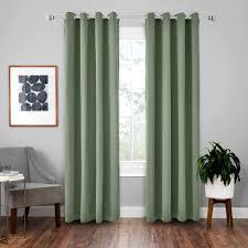 vorhänge 2er 175x140cm hxb grün blickdicht thermo für wohnzimmer schlafzimmer kinderzimmer