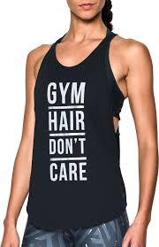 under armour women u0027s gym hair don u0027t care strappy tank top u0027s