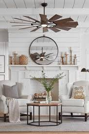 The 62 Prairie Fan Is Reminiscent Of A Windmill Boasting 14 Blades And An Living Room Ceiling