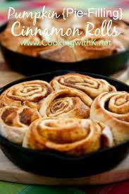Barefoot Contessa Pumpkin Pie Filling by Cooking With K Easiest Pumpkin Filled Cinnamon Rolls With Brown