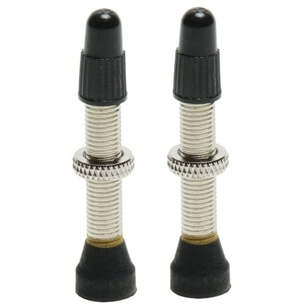 Universal 44mm Tubeless Road Valve Stem (Pair)