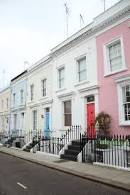 100 Notting Hill Houses A DAY IN NOTTING HILL