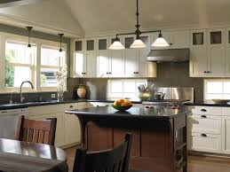 amish kitchen cabinets Kitchen Traditional with breakfast bar