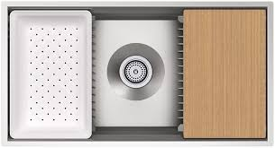 Kohler Kitchen Sink Protector by Kohler K 5540 Na Prolific Undermount Single Bowl Kitchen Sink With