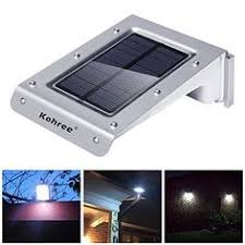 tektrum 30 led solar powered wall ground mount bright flood
